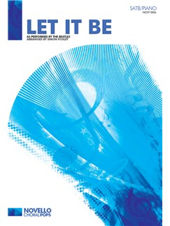 The Beatles: Let It Be - SATB/Piano Livre | SATB, Accompagnement Piano