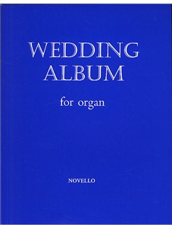 Wedding Album For Organ Books | Organ