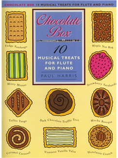 Paul Harris: Chocolate Box - 10 Musical Treats For Flute And Piano Books | Flute, Piano Accompaniment