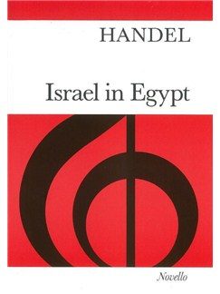 G. F. Handel: Israel In Egypt (Vocal Score) Books | 2 Soprano, Alto, Tenor, 2 Bass, Piano