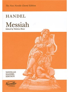 G.F. Handel: Messiah (Watkins Shaw) - Paperback Edition Vocal Score Livre | Soprano, Alto, Tenor, Basse, SATB, Accompagnement Piano