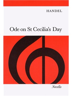 G.F. Handel: Ode On St. Cecilia's Day Books | Soprano, Tenor, SATB, Piano Accompaniment