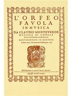 Claudio Monteverdi: L'Orfeo - Favola In Musica SV.318 Books | Opera