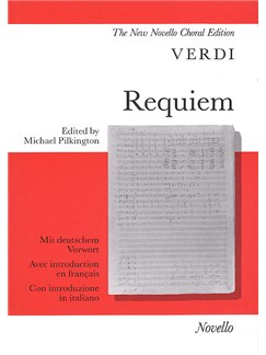 Giuseppe Verdi: Requiem (Vocal Score) Books | SATB, Piano Accompaniment