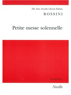 Gioacchino Rossini: Petite Messe Solennelle - Vocal Score (Pack Of Ten) Books | SATB, Orchestra