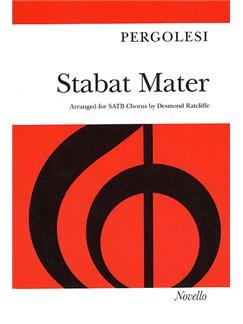 Giovanni Pergolesi: Stabat Mater (Novello Edition - Vocal Score) Libro | Soprano, Alto, SATB, Acompañamiento de Piano