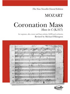 W.A. Mozart: Coronation Mass: Mass In C K.317 (Vocal Score) Livre | Soprano, Alto, Tenor, Basse, SATB, Accompagnement Piano