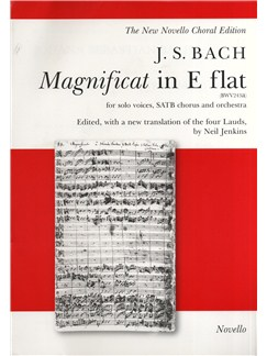 J.S. Bach: Magnificat In E Flat (Vocal Score) Books | Soprano, Alto, Tenor, Bass Voice, SATB, Piano Accompaniment