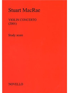 Stuart MacRae: Violin Concerto (Study Score) Bog | Violin, Orkester