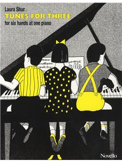 Laura Shur: Tunes For Three Books | Piano