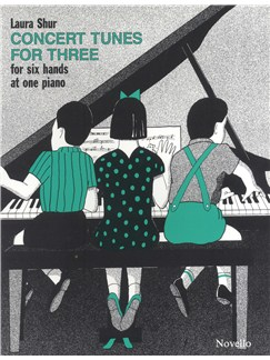 Laura Shur: Concert Tunes For Three Books | Piano