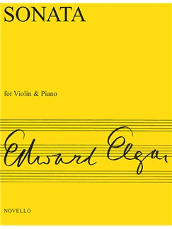 Edward Elgar: Sonata For Violin And Piano (E Minor) Books | Violin, Piano Accompaniment