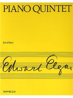 Edward Elgar: Piano Quintet Op.84 Books | Piano Quintet