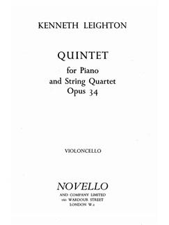 Kenneth Leighton: Piano Quintet Op.34 Books | Piano Quintet