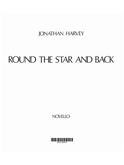 Jonathan Harvey: Round The Star And Back (Full Score) Books | Piano and Other Instruments