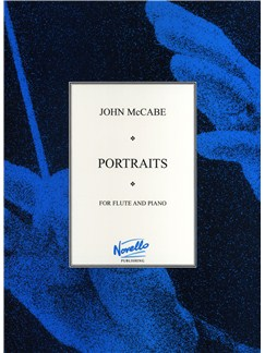 John McCabe: Portraits For Flute And Piano Books | Flute, Piano Accompaniment
