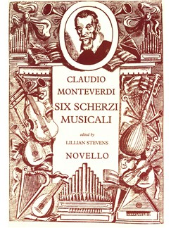 Claudio Monteverdi: Six Scherzi Musicali Books | Mezzo-Soprano, Soprano, Bass Voice, String Instruments, Organ Accompaniment
