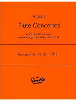 W.A. Mozart: Concerto No.1 In G K.313 Books | Flute, Piano