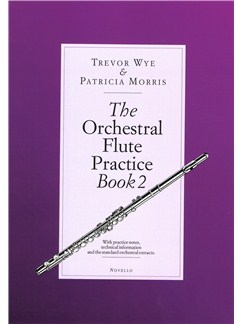 Trevor Wye/Patricia Morris: The Orchestral Flute Practice - Book 2 Books | Flute