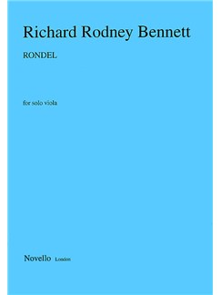 Richard Rodney Bennett: Rondel For Solo Viola Books | Viola