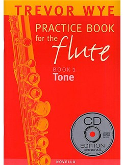 A Trevor Wye Practice Book for the Flute Volume 1: Tone (With CD) Books and CDs | Flute