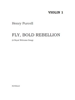 Henry Purcell: Fly, Bold Rebellion (String Parts) Books | String Ensemble