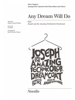 Any Dream Will Do Show Singles Books | SATB
