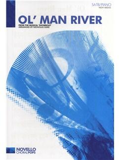 Jerome Kern/Oscar Hammerstein: Ol' Man River (SATB/Piano) Books | SATB, Piano Accompaniment
