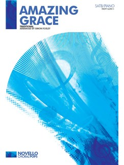 Amazing Grace (SATB Vocal Score) Books | SATB, Piano Accompaniment