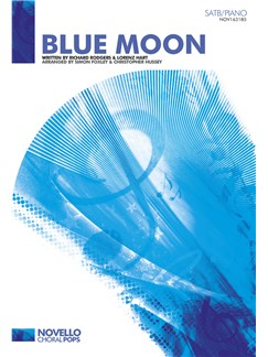 Richard Rodgers/Lorenz Hart: Blue Moon - SATB/Piano Books | SATB, Piano Accompaniment