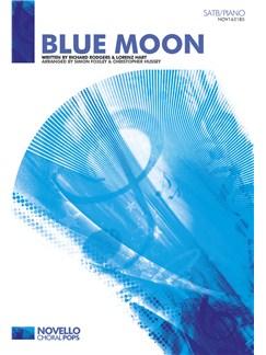 Richard Rodgers/Lorenz Hart: Blue Moon - SATB/Piano Books | SATB, Piano Accompaniment