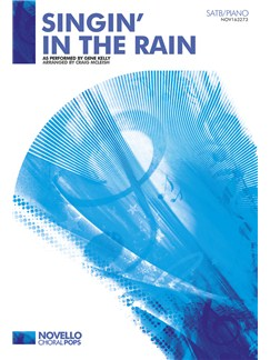 Gene Kelly: Singin' In The Rain - SATB/Piano Books | SATB, Piano Accompaniment