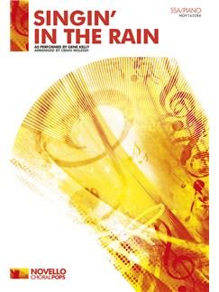 Gene Kelly: Singin' In The Rain - SSA/Piano Books   SSA, Piano Accompaniment