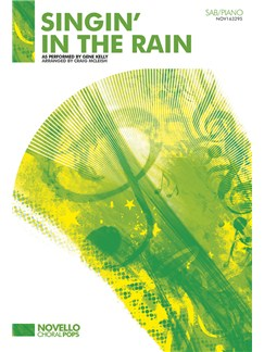 Gene Kelly: Singin' In The Rain - SAB/Piano Books | SAB, Piano Accompaniment