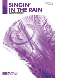 Gene Kelly: Singin' In The Rain - TTBB/Piano Books | TTBB