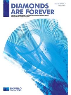 Don Black/John Barry: Diamonds Are Forever - SATB/Piano Books | SATB, Piano Accompaniment