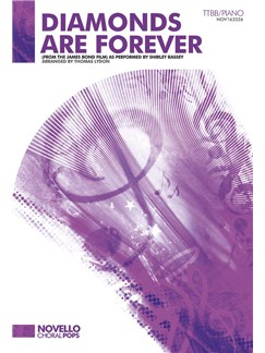 Don Black/John Barry: Diamonds Are Forever - TTBB/Piano Books | TTBB, Piano Accompaniment