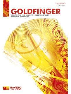 Shirley Bassey: Goldfinger (SSA/Piano) Books | SSA, Piano Accompaniment