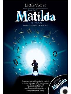 Little Voices - Matilda The Musical Books and CDs | 2-Part Choir, Piano Accompaniment