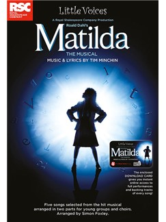 Little Voices: Matilda The Musical (Book/Audio Download) Books | 2-Part Choir, Piano Accompaniment