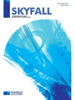 Adele: Skyfall (SATB) Books | SATB, Piano Accompaniment