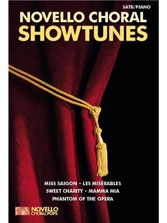 Novello Choral Pops: Showtunes Books | SATB, Piano Accompaniment