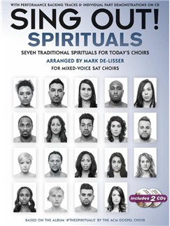 Sing Out! The Spirituals CD et Livre | Chorale