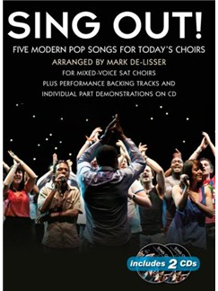Sing Out! 5 Pop Songs For Today's Choirs - Book 3 Books and CDs | SAT, Piano Accompaniment