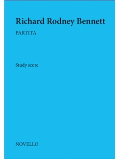 Richard Rodney Bennett: Partita (Typeset Full Score) Books | Orchestra