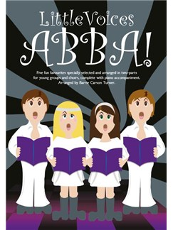 Little Voices - Abba (Book Only) Books | 2-Part Choir, Piano Accompaniment