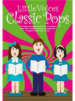 Little Voices - Classic Pops (Book Only) Livre | Choeur En 2-Parties, Accompagnement Piano