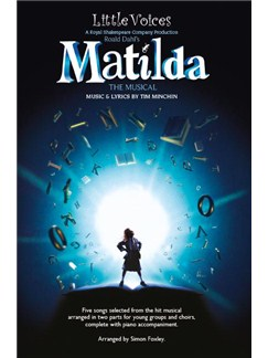 Little Voices - Matilda (Book Only) Books | 2-Part Choir, Piano Accompaniment