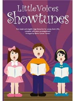 Little Voices - Showtunes (Book Only) Books | 2-Part Choir, Piano Accompaniment