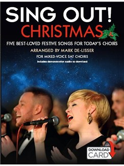 Sing Out! Christmas (Book/Audio Download) Books and Digital Audio | SAT, Piano Accompaniment